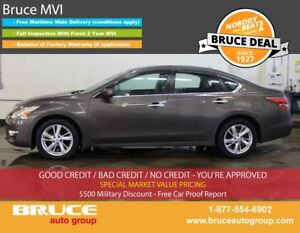 2013 Nissan Altima 2.5L 4 CYL CVT FWD 4D SEDAN SATELLITE RADIO,