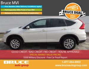 2015 Honda CR-V EX 2.4L 4 CYL I-VTEC CVT AWD KEYLESS IGNITION, S