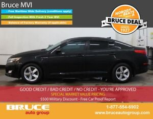 2015 Kia Optima LX 2.4L 4 CYL AUTOMATIC FWD 4D SEDAN SATELLITE R