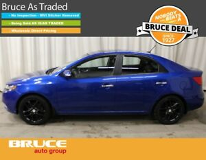 2010 Kia Forte SX 2.4L 4 CYL 6 SPD MANUAL FWD 4D SEDAN