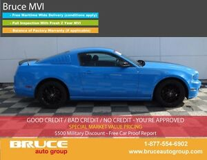 2014 Ford Mustang 3.7L 6 CYL 6 SPD MANUAL RWD 2D COUPE SATELLITE