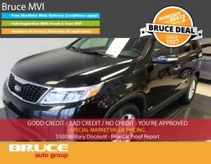 2014 Kia Sorento EX 2.4L 4 CYL AUTOMATIC AWD SATELLITE RADIO, BL