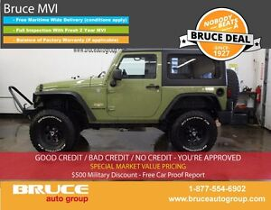 2013 Jeep Wrangler Sahara HARD AND SOFT TOPS PREMIUM SOUND SYSTE