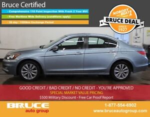 2011 Honda Accord EX-L 3.5L 6 CYL I-VTEC AUTOMATIC FWD 4D SEDAN