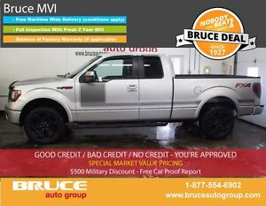 2013 Ford F-150 FX4 5.0L 8 CYL AUTOMATIC 4X4 SUPERCAB REMOTE VEH