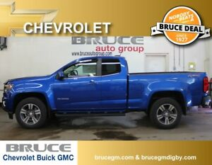 2018 Chevrolet Colorado LT 3.6L 6 CYL AUTOMATIC 4X4 EXTENDED CAB