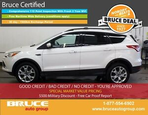 2013 Ford Escape SEL 2.0L 4 CYL ECOBOOST AUTOMATIC 4WD LEATHER I