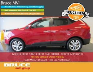 2012 Hyundai Tucson LIMITED 2.4L 4 CYL AUTOMATIC AWD LEATHER INT