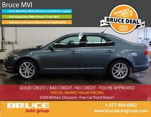 2012 Ford Fusion SEL 2.5L 4 CYL AUTOMATIC FWD 4D SEDAN SATELLITE