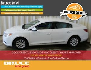 2010 Buick LaCrosse CX 3.0L 6 CYL AUTOMATIC FWD 4D SEDAN BLUETOO
