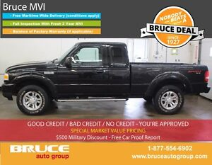 2010 Ford Ranger Sport 4.0L 6 CYL 5 SPD MANUAL 4X4 EXTENDED CAB