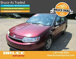 2003 Saturn Ion MIDLEVEL 2.2L 4 CYL AUTOMATIC FWD 4D SEDAN