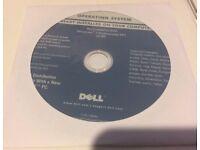 Dell Windows 7 Pro SP1 32 Bit OS Restore Recovery DVD Disc w/RAM