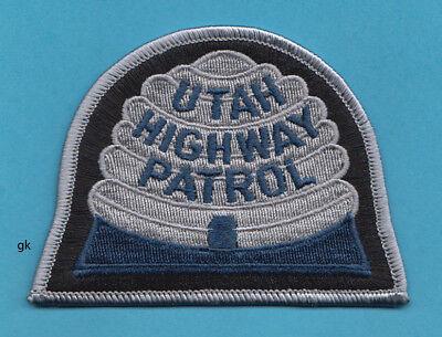 UTAH HIGHWAY PATROL   POLICE SHOULDER  PATCH  (Blue)