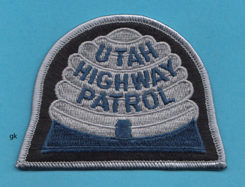 UTAH HIGHWAY PATROL   POLICE SHOULDER  PATCH  (Blue)