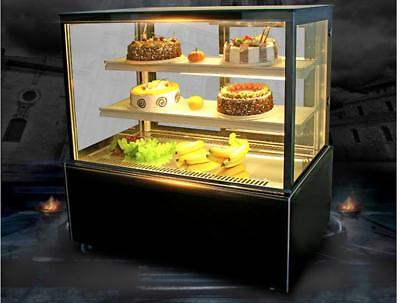 220v Refrigerated Bakery Showcase Countertop Cake Food Cooling Display Cabinet