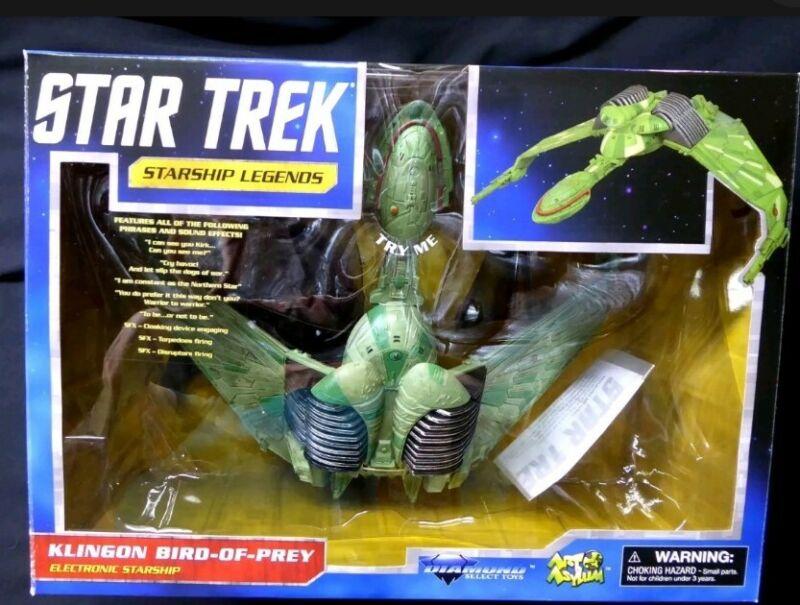 Star Trek Klingon Bird of Prey Electronic Starship New 2013 Lights/Sound Sealed