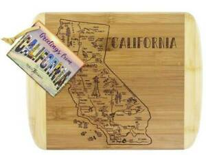Brand New TOTALLY BAMBOO California 28cm Bamboo Serving Cutting Board