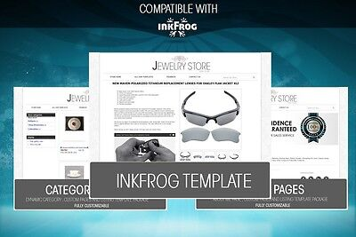 Inkfrog Open Or Classic Listing Template Ebay Listing Template