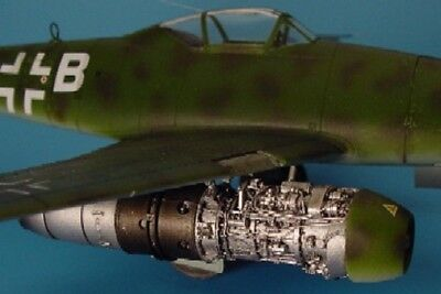 Aires 1/48 Me262A Engine Set For TAM AHM4145