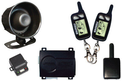 NEW CAR ALARM K9 WITH (2)2-WAY LCD REMOTES (Replacement remote-65101) K9ECLIPSE2