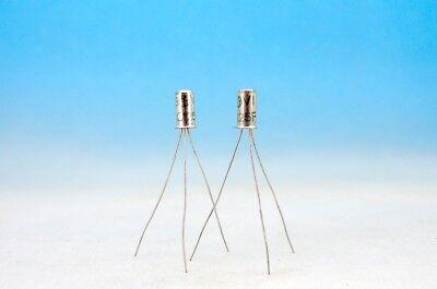 2x Matched Ac125 Fz Vi Fuzz Face Germanium Pnp Pair Transistors 2n406 Oc70 Oc71