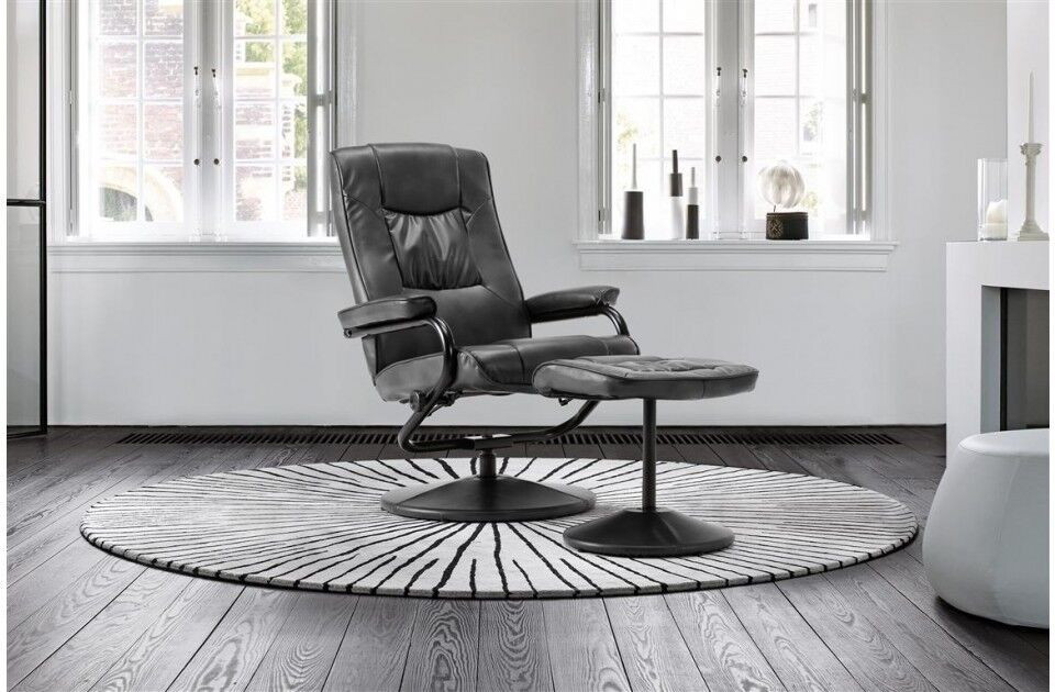 Brand New Memphis Swivel Faux Leather Chair and