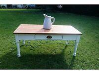 Vintage Distressed Laura Ashley Coffee Table