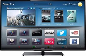 "Phillips 46"" LED TV,Ultra Slim, FULL HD, WiFi, Smart TV, USB , DVB-C , DVB-T , DVB-S/-S2."