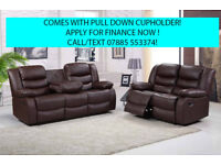 recliner sofa 3 plus 2 seat leather