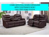 recliner 2 plus 3 seater recliner sofa leather