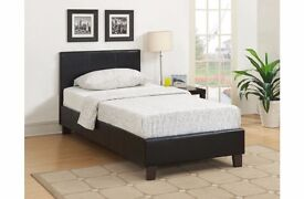 FREE DELIVERY *** BRAND NEW LEATHER Bed frame only £69***