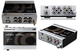 Audio 4 DJ. External, pro-quality soundcard. (Native Instruments)