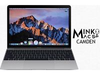 "Silver 12"" Apple Macbook Retina Display Core M3 1.1Ghz 8gb Ram 250GB SSD Adobe Microsoft Office 2016"