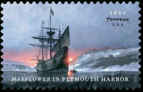 5524 Mayflower In Plymouth Harbor US Single MNH SHIPS NOW!!!