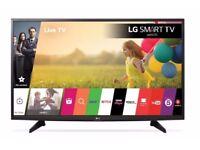 """1 year old LG 43LH590V Smart 43"""" LED TV"""