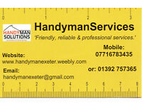 Handyman wanted for Exeter based business full or part time - good rates of pay.