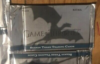 2014 Rittenhouse Game of Thrones Season 3 Trading Card Pack Sealed