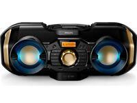 Philips Soundmachine PX840T/05 CD (Bluetooth/USB/50 W RMS/Dynamic Light) (NEW)