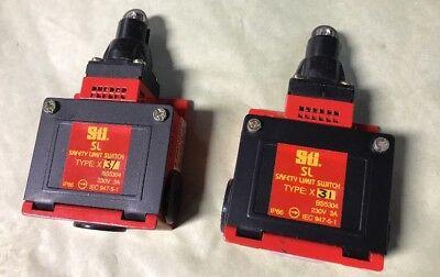 NEW LOT (2) STI Safety Limit Switch 44505-0030 Type: X31 230V 3A FAST SHIPPING