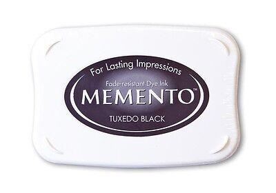 Tsukineko Stempelkissen Memento Tuxedo Black ~ 10x6cm ~ NEU ME-900
