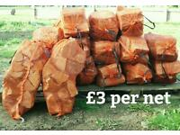 Logs and firewood. stock up at summer prices