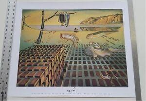 SALVADOR DALI ~ DISINTEGRATION OF MEMORY ~ 22x28 FINE ART POSTER Print NEW!