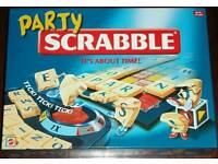 Party Scrabble New unused board games