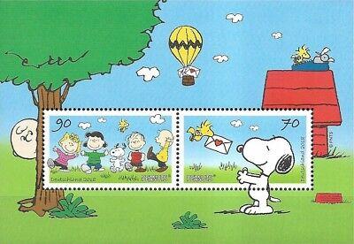 Bund Mi.Nr. Block 82** (2018) postfrisch/Comics (Snoopy)