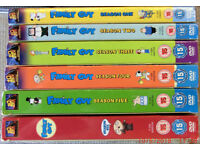 Family Guy Series 1 to 6 Excellent Condition