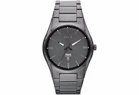 Relic Men's Gunmetal Bracelet Watch