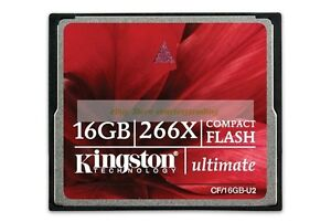 Kingston-CompactFlash-16GB-Ultimate-266X-45MB-S-CF-Tarjeta-memoria-flash-ct-ES