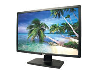 Dell monitor U2412M 24'' inch display port as new condition, can tilt, swivel rotate