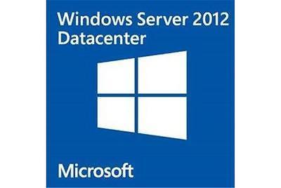 Msft Windows Server 2012 Data Center  Retail License   Download